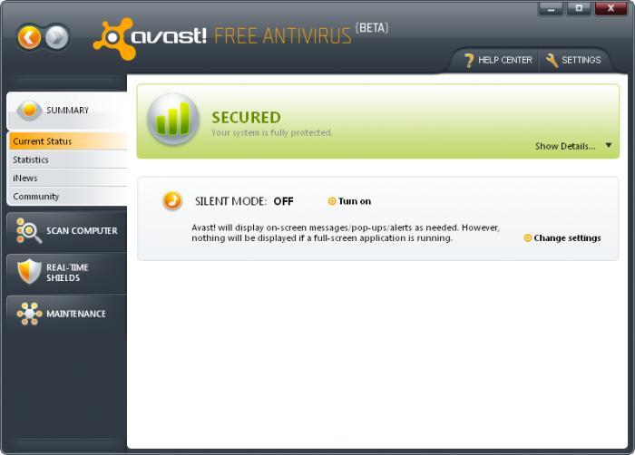 top free antivirus 2012